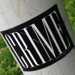 sticker Crime Amsterdam Amsterdamse Brug 2014 Juni Muschikreuzberg
