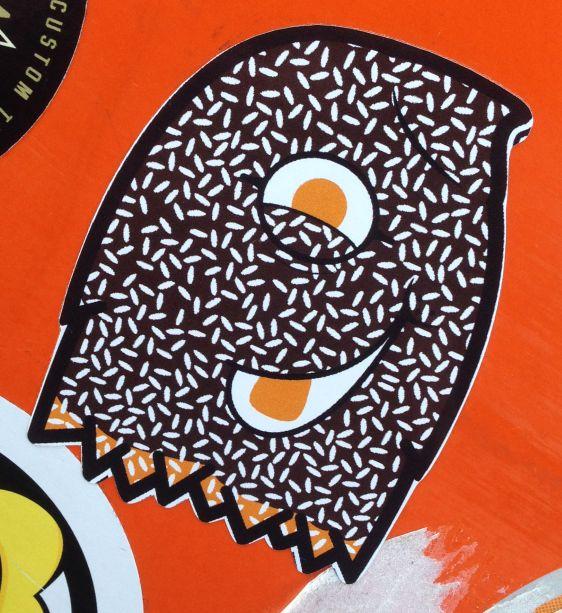 sticker Love Critter Amsterdam December 2013 weird