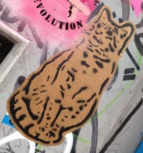 Lembo sticker Spuistraat Amsterdam 2014 June pussycat