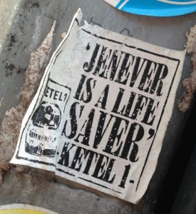 sticker Ketel 1 Arnhem 2014 June jenever lifesaver