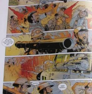De nieuwe tsaren stripboek Delitte 001