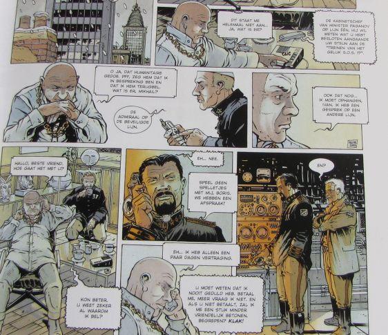 De nieuwe tsaren stripboek Delitte 002