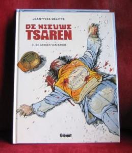 De nieuwe tsaren stripboek Delitte kaft gekken Bakoe
