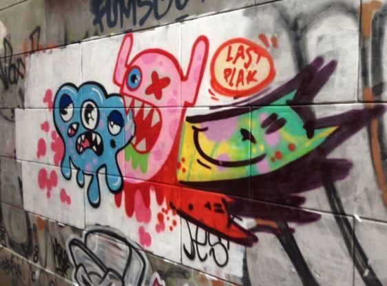 graffiti Lastplak Jest Amsterdam 2014 June combo Spuistraat