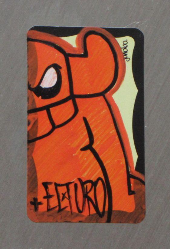 sticker El Toro Philadelphia 2014 July angry viking
