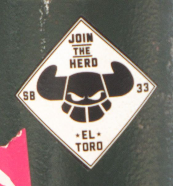 sticker El Toro Philadelphia 2014 July join the herd