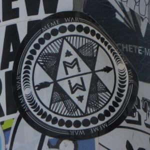 sticker Meme war Philadelphia 2014 July arrow