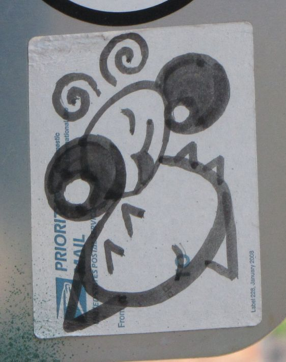 sticker Philadelphia Antboy 2014 July