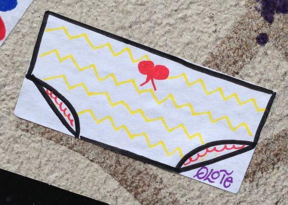 sticker Qlote Amsterdam center 2014 March onderbroek