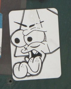 sticker Philadelphia 2014 July Markese the mop