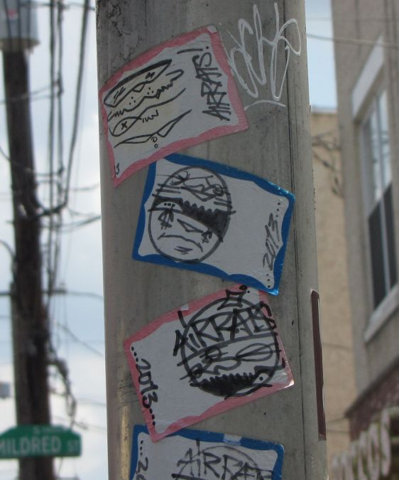 stickers Air Rats Philadelphia 2014 July Rat