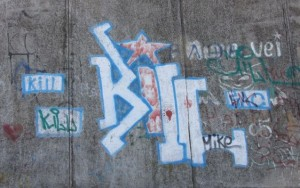 graffiti Bendery Transnistria 2014 October logo KILL