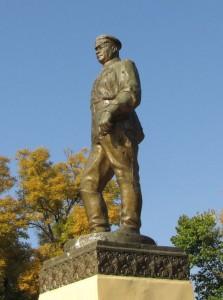 Grigory Kotovsky monument Transnistria Tiraspol 2014