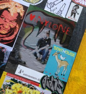 sticker Vinylone Amsterdam Spuistraat 2014 November