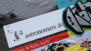 sticker Vinylone Amsterdam Spuistraat 2014 November teloscope