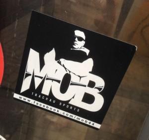 sticker Mob Amsterdam Centr 2015 Trachau sports crime