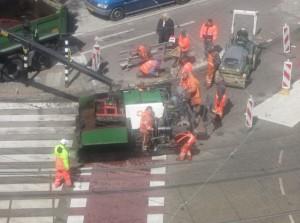 Roelof-Hartplein-onderhoud-tramspoor